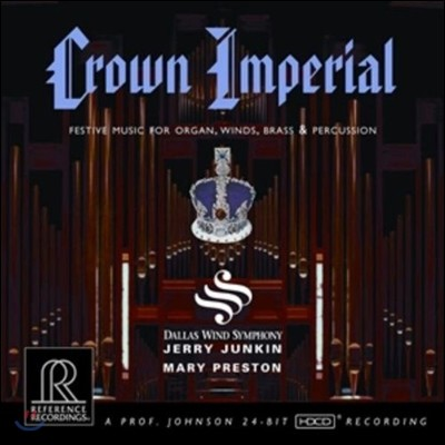 Dallas Wind Symphony 영국의 귀족음악 (Crown Imperial - Festive Music for Organ, Winds, Brass and Percussion)