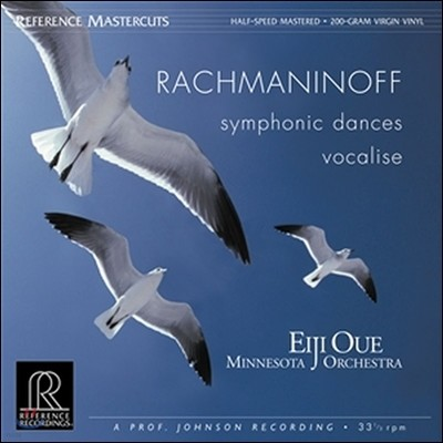 Eiji Oue 라흐마니노프: 교향적 무곡, 보칼리즈 (Rachmaninov: Symphonic Dances, Vocalise) [LP]