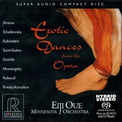 Eiji Oue 오페라 속의 이국적 무곡들 (Exotic Dances from the Opera - Strauss / Tchaikovsky / Dvorak / Saint-Saens)
