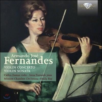 Carlos Damas 페르난데스: 바이올린 소나타, 협주곡 (Fernandes: Violin Concerto, Violin Sonata)