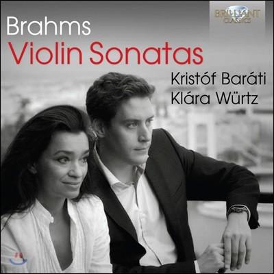Kristof Barati 브람스: 바이올린 소나타 전곡집 - 1, 2, 3번 (Brahms: Violin Sonatas Op.78, 100, 108)