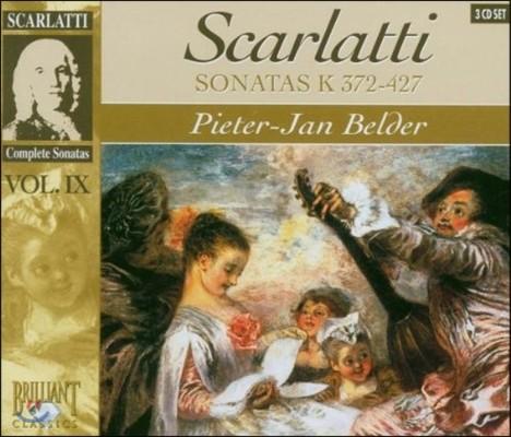 Pieter-Jan Belder 스카를라티: 건반 소나타 전곡 9집 - 피터-얀 벨더 (Domenico Scarlatti: Sonata Vol.IX - K.372-427)