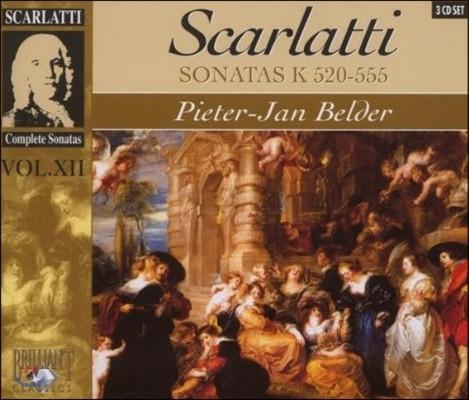 Pieter-Jan Belder 스카를라티: 건반 소나타 전곡 12집 - 피터-얀 벨더 (Domenico Scarlatti: Sonata Vol.XII - K.520-555)
