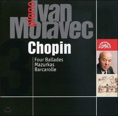 Ivan Moravec 쇼팽: 발라드 1-4번, 마주르카, 뱃노래 (Chopin: Ballad Nos.1-4, Mazurka, Barcarolle)