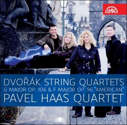 Pavel Haas Quartet 드보르작: 현악 사중주 12번 `아메리카` 13번 (Dvorak: String Quartets No. 12 Op.96 'American', No.13 Op.106)