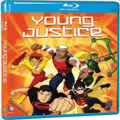 Young Justice: Complete First Season (영 저스티스 시즌 1)(한글무자막)(Blu-ray)