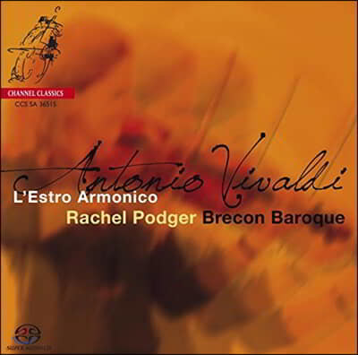 Rachel Podger 비발디: 조화의 영감 - 레이첼 포저 (Vivaldi: L'Estro Armonico)