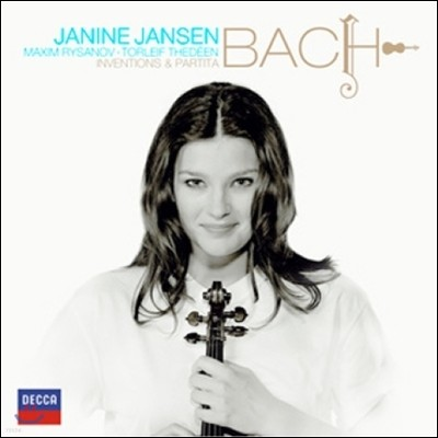 Janine Jansen 바흐: 인벤션, 파르티타 [2대의 바이올린을 위한 편곡 버전] (Bach: Inventions, Partita) 재닌 얀센
