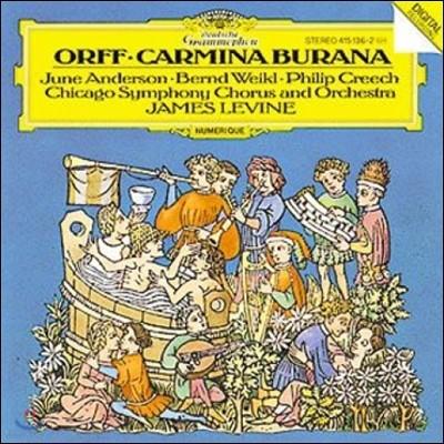 James Levine 오르프: 카르미나 부라나 (Orff: Carmina Burana)