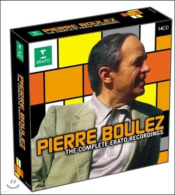Pierre Boulez 피에즈 불레즈 박스세트 (Complete Erato Recordings)