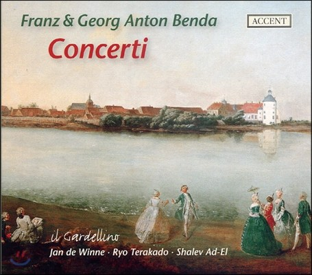 Ryo Terakado / Jan de Winne 프란츠 벤다 / 게오르크 안톤 벤다: 협주곡집 (Franz Benda / Georg Anton Benda: Concerti)