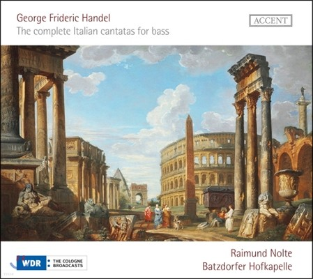 Raimund Nolte 헨델: 베이스를 위한 이탈리아 칸타타 전곡 (Handel: The Complete Italian Cantatas For Bass)