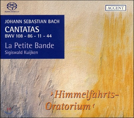 Sigiswald Kuijken 바흐: 칸타타 10집 BWV108, 86, 11, 44 (Bach: Cantatas BWV108, 86, 11, 44 vol.10)