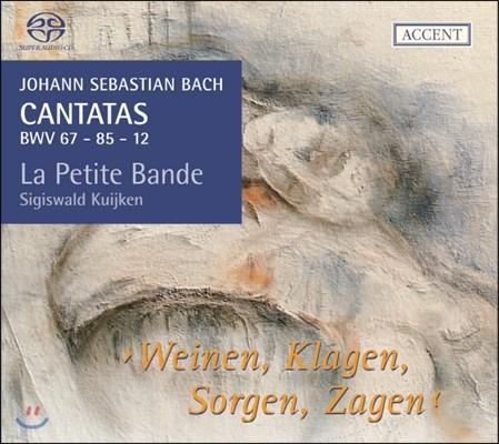 Sigiswald Kuijken 바흐: 칸타타 BWV67, 85, 12 11집 (Bach: Cantatas BWV67, 85, 12 vol.11)