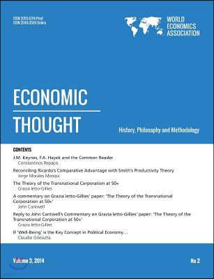 Economic Thought, Vol 3, No 2, 2014