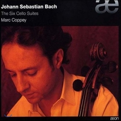 Marc Coppey 바흐: 무반주 첼로 모음곡 전곡 (Bach: The Six Cello Suites BWV1007-1012)