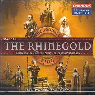 Reginald Goodall 바그너: 라인 강의 황금 - 영어 버전 (Opera in English - Wagner: Rheinegold)