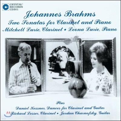 Mitchell Lurie 브람스: 클라리넷 소나타 (Brahms: Two Sonatas for Clarinet and Piano)