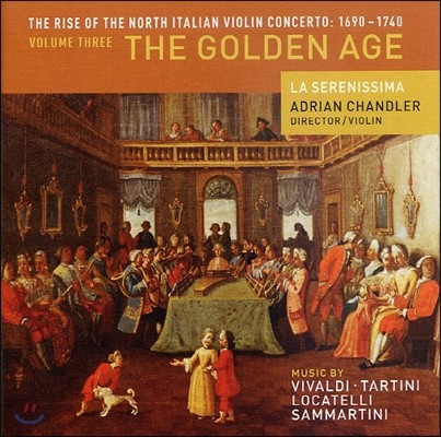 Adrian Chandler 바이올린 협주곡의 역사 3탄 - 황금시대 (Violin Concerto 1690-1740 Vol.3 - The Golden Age)