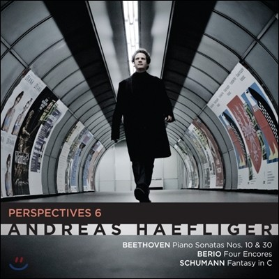 Andreas Haefliger 베토벤: 피아노 소나타 10번 / 베리오: 물 피아노, 공기 피아노 / 슈만: 환상곡 외 (Beethoven: Piano Sonata / Berio: Wasserklavier / Schumann: Fantasie)