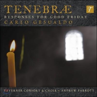 Andrew Parrott 제수알도: 성 금요일을 위한 레스폰소리움 (Gesualdo: Tenebrae Responses For Good Friday)