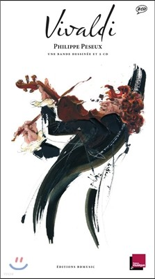 Vivaldi (일러스트 by Philippe Peseux) : 미술과 음악이 공존하는 아트 클래식 '비발디'