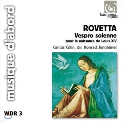Cantus Colln 로베타: 루이 14세 탄생을 위한 장엄한 저녁 기도 (Giovanni Rovetta: Vespro Solenne pour la Naissance de Louis XIV)
