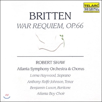 Robert Shaw 브리튼: 전쟁 레퀴엠 (Britten: War Requien Op.66)