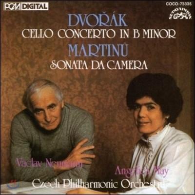 Vaclav Neumann / Angelica May 드보르작: 첼로 협주곡 / 마르티누: 소나타 다 카메라 (Dvorak: Cello Concerto / Martinu: Sonata da Camera)