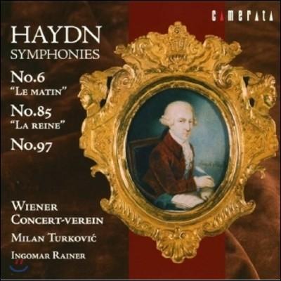 Wiener Concert-Verein 하이든: 교향곡 6번 '아침', 85번 '여왕', 97번 (Haydn: Symphonies 'Le Matin', 'La Reine')
