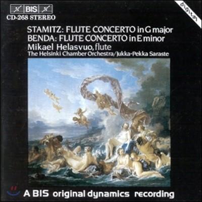 Mikael Helasvuo 스타미츠 / 벤다: 플루트 협주곡 (Stamitz / Benda: Flute Concertos)