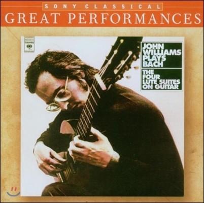 John Williams 바흐: 무반주 류트 모음곡 (Bach: The Four Lute Suites on Guitar BWV995-997, 1006a)