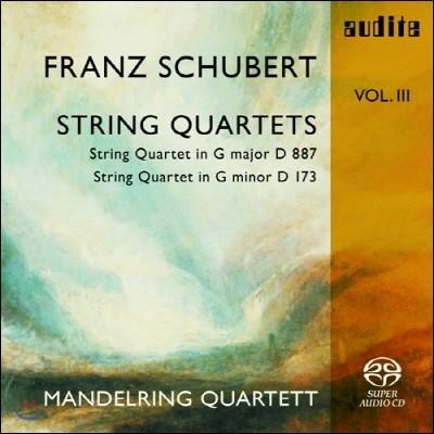 Mandelring Quartett 슈베르트: 현악 사중주 15번, 9번 (Schubert: String Quartets D887, D173)