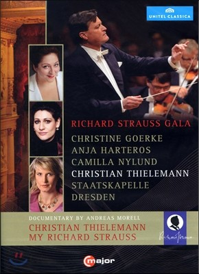 Christian Thielemann, Christine Goerke R. 슈트라우스 갈라 콘서트 & 다큐멘터리 (R.Strauss : Gala & Documentary - Thielemann)