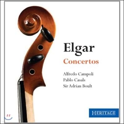 Pablo Casals / Adrian Boult 엘가: 협주곡 (Elgar: Violin Concerto, Cello Concerto Op.85)