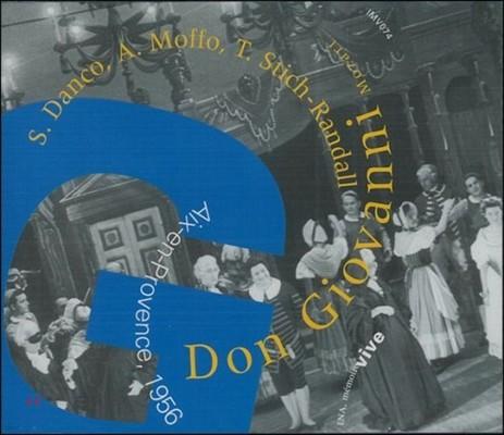 Suzanne Danco 모차르트: 돈 조반니 - 1956년 액상 프로방스 공연 실황 (Mozart: Don Giovanni - Aix-en-Provence Live)