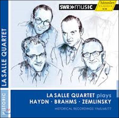LaSalle Quartet 하이든 / 브람스 / 쳄린스키: 현악 사중주 (Haydn: String Quartet Op.71-2 / Brahms: String Quartet No.3 / Zemlinsky: String Quartet No.3)