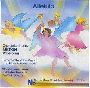 Michael Praetorius / Alleluia: Chorale Settings (수입/NC60021)