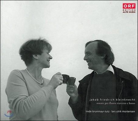 Linde Brunmayr-Tutz 클라인크네흐트: 트라베르소 플루트 소나타 (Kleinknecht: Flute Traverso Sonatas)