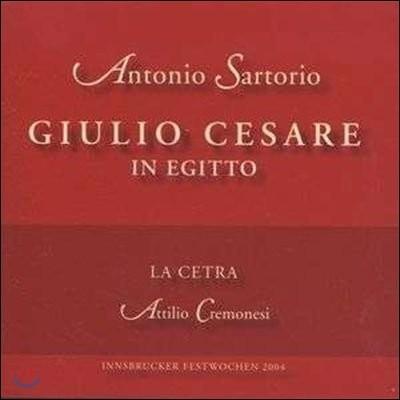 La Cetra 사르토리오: 이집트의 줄리오 체사레 (Sartorio: Giulio Cesare in Egitto)