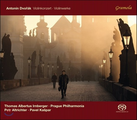 Thomas Albertus Irnberger 드보르작: 바이올린 협주곡, 바이올린 작품 (Dvorak: Violin Concerto, Violin Works)