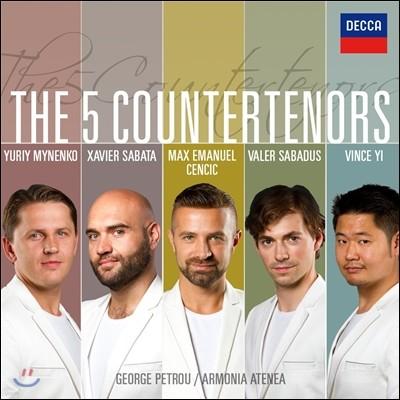 Max Emanuel Cencic 다섯 명의 카운터테너 (The 5 Countertenors)