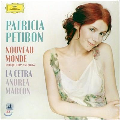 Patricia Petibon 파트리시아 프티봉 - 바로크 아리아와 가곡 (Nouveau Monde - Baroque Arias And Songs)[2LP]