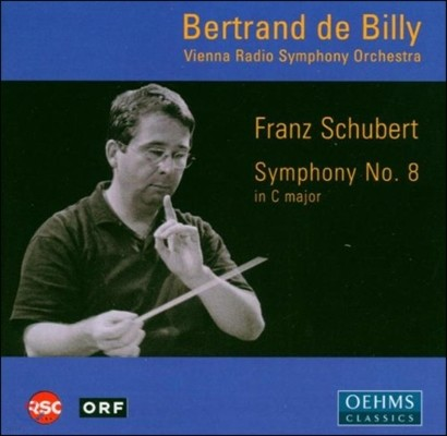 Bertrand De Billy 슈베르트: 교향곡 8번 '미완성' (Schubert: Symphony D.944 'Unfinished')