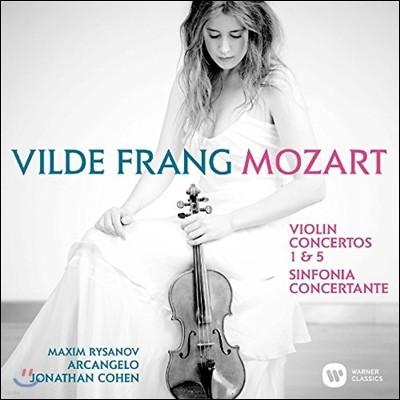 Vilde Frang 모차르트: 바이올린 협주곡 1번, 5번, 신포니아 콘체르탄테 (Mozart: Violin Concertos K207, K219, Sinfonia Concertante K364) 빌데 프랑