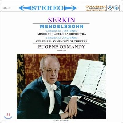 Eugene Ormandy 멘델스존: 피아노 협주곡 1번, 2번 (Mendelssohn: Piano Concertos Nos.1, 2)