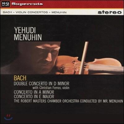 Christian Ferras / Yehudi Menuhin 바흐: 바이올린 협주곡, 이중 협주곡 (Bach: Violin Concertos, Double Concerto)