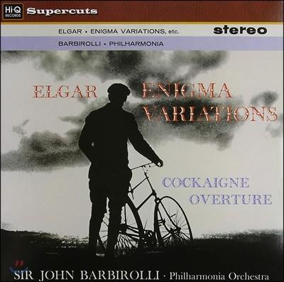 John Barbirolli 엘가: 이니그마 변주곡 (Elgar: Enigma Variations) [LP]