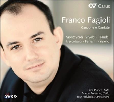 Franco Fagioli 몬테베르디 / 비발디 / 헨델 / 프레스코발디: 칸초네와 칸타타 (Monteverdi / Vivaldi / Handel / Frescobaldi: Canzone e Cantate)