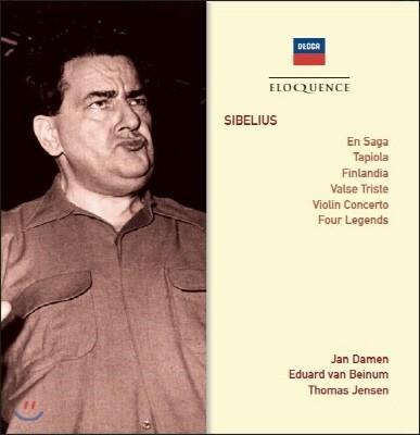 Eduard van Beinum 시벨리우스: 바이올린 협주곡, 관현악 작품집 (Sibelius: Violin Concerto, Orchestral Works)